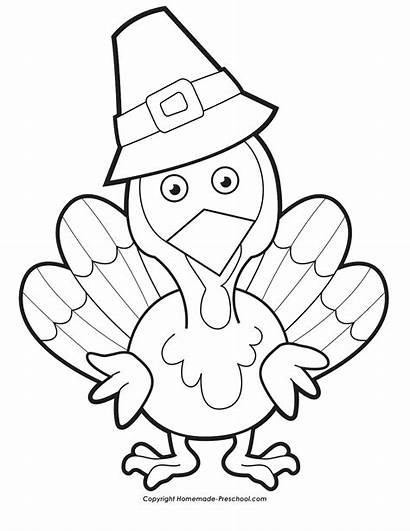Thanksgiving Coloring Turkey Pages Printables Printable Sheets