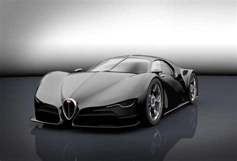 Jean bugatti had the second atlantic made for himself. Bugatti Type 57SC Atlantic Concept - SnupDesign