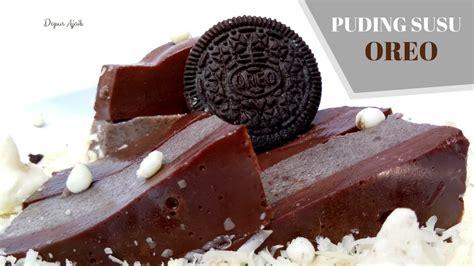 Resep puding coklat oreo bahan untuk puding coklat oreo : Cara Membuat PUDING COKLAT SUSU OREO Cocok Untuk dibawa ke Rumah Calon Mertua - YouTube