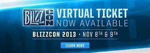 BlizzCon 2013 Virtual Tickets Now on Sale - Diablo III ...