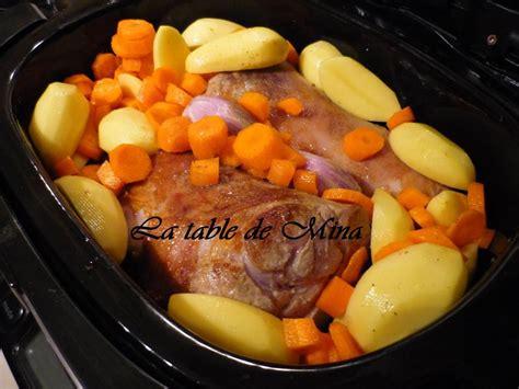 jarret de veau cuisson douce 224 la mijoteuse recette