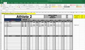 why you should create your own strength software in excel With strength and conditioning templates