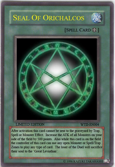 Yugioh Seal Of Orichalcos Deck List by Seal Of Orichalcos By Dixondayne On Deviantart