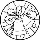 Coloring Christmas Bells Bell Pages Drawing Printable Colouring Colour Mandalas Pattern Easy Holy Sheets Navidad Mandala Crafts Supplyme Merry Para sketch template
