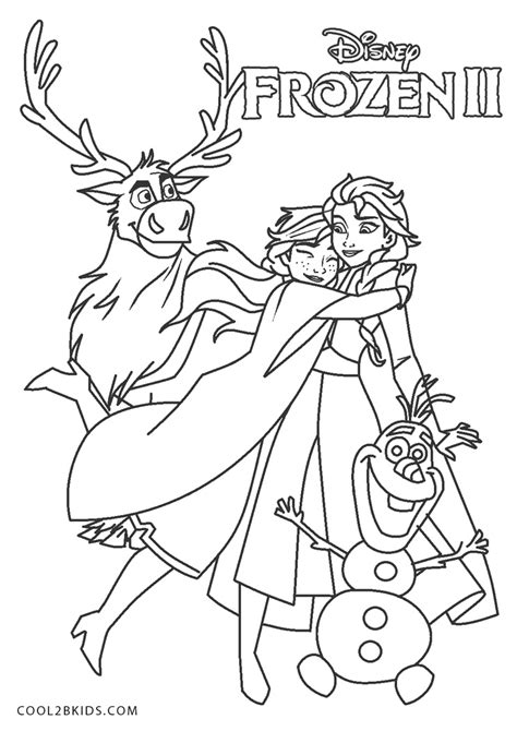 printable elsa coloring pages  kids