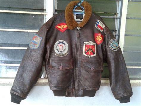 Vintage Avirex Naval Us Navy G1 Leather Flight By