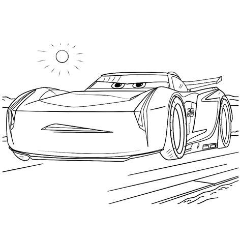 Cars Kleurplaat A4 by Leuk Voor Jackson