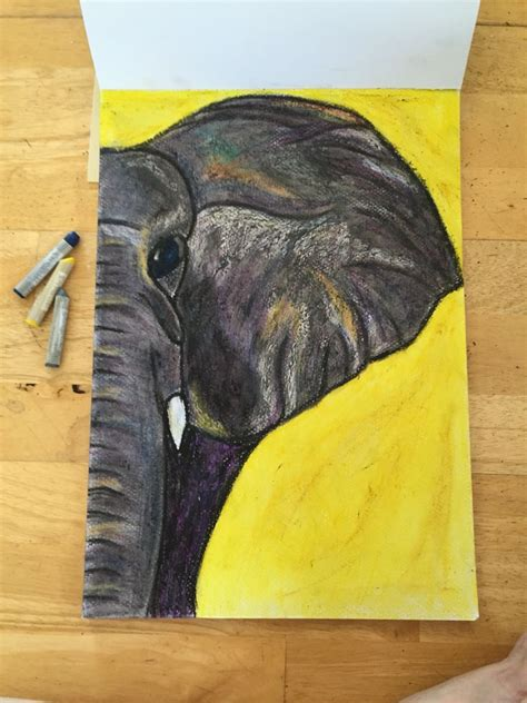 oil pastel drawings ideas  pinterest