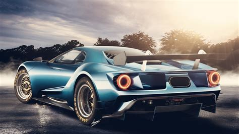 Classic Car Wallpaper 1600 X 900 Cool Pics by 2017 Ford Gt Concept Wallpaper Hd Car Wallpapers Id 5441