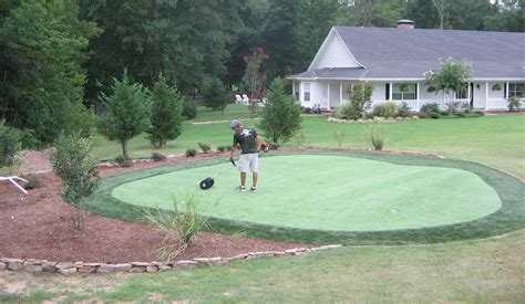 """My Custom """"do It Yourself"""" Synthetic Putting Green From"""