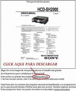 Solucionado  Equipo Sony No Prende Hcd-sh2000