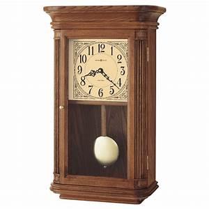 Howard Miller Westbrook Quartz Wall Clock - Oak 625-281 625281