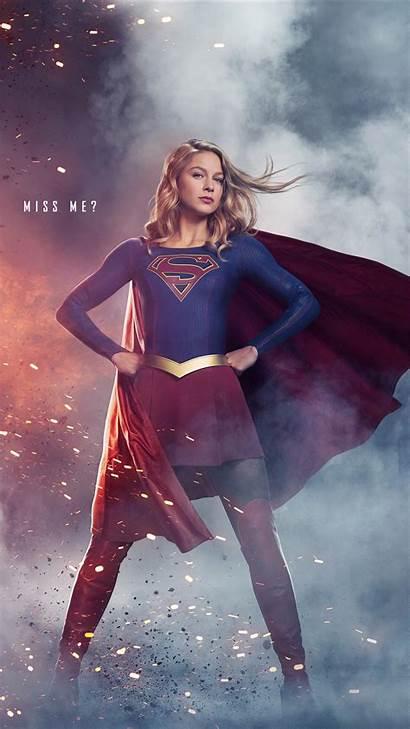 Supergirl Season Iphone Wallpapers 1440 Widescreen Melissa