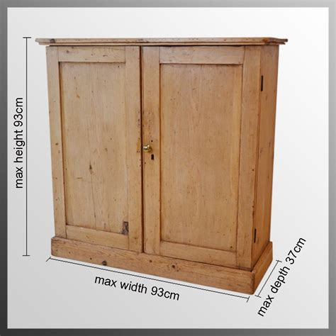 Pine Cupboard Door by Ictorian Pine Cabinet Bookcase Door Cupboard