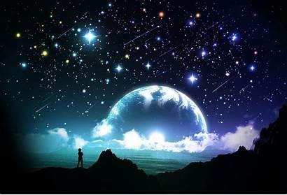 Sky Night Stars Wallpapers Fantasy