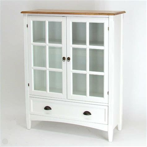 Bookcase Glass Door by Wayborn 1 Shelf Barrister Bookcase With Glass Door Wood In