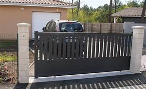 Installer Un Portail : diy poser un portail coulissant en aluminium ~ Premium-room.com Idées de Décoration