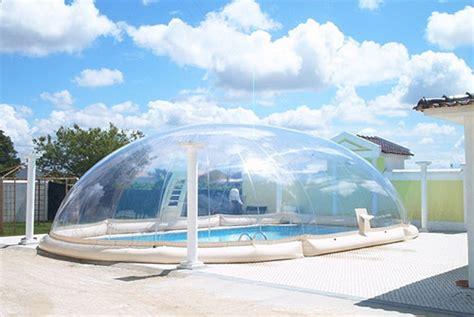 l abri de piscine gonflable un concept 224 part dans le monde des abris