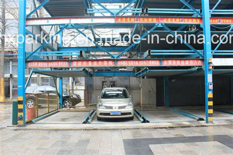 China Puzzle Type-mechanical Parking System
