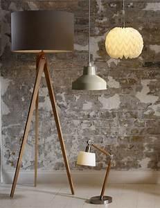 Best 25 modern lighting ideas on pinterest interior for Modern tripod floor lamp marks and spencer