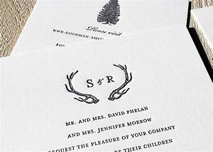 rustic winter wedding sesame letterpress design With letterpress snowflake wedding invitations