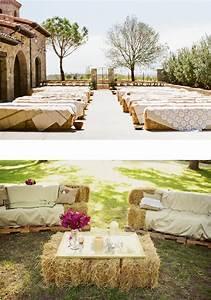 les 25 meilleures idees de la categorie bottes de paille With lovely exemple plan de maison 3 decoration ceremonie mariage