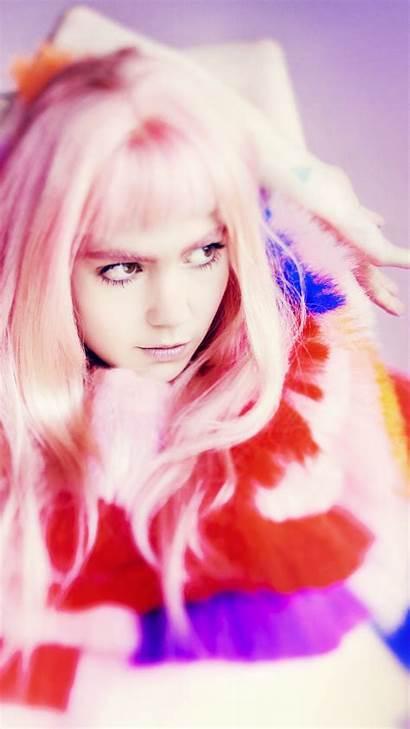 Grimes Singer Bands Artist Background Celebrities Singularity