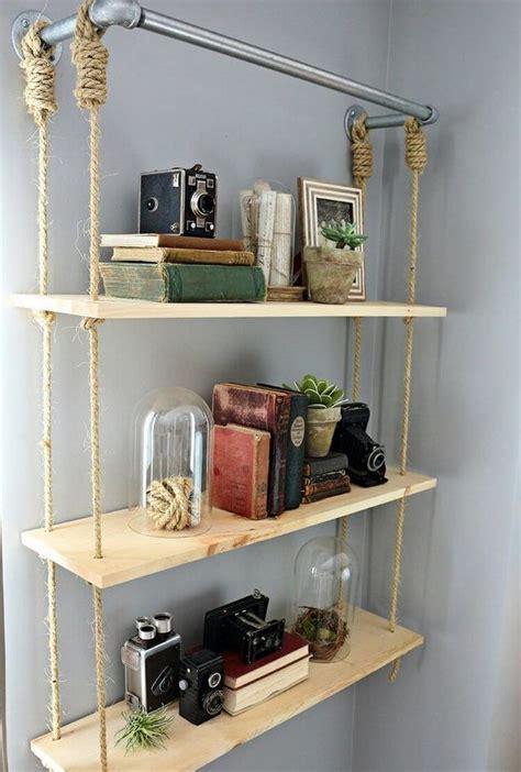 ideas  rope shelves  pinterest home decor