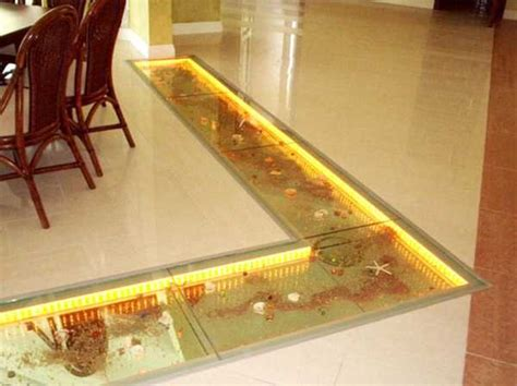 floor glass tiles 25 glass floor and ceiling designs opening and enhancing modern home interiors