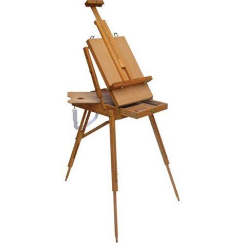 french easel wooden sketch box woodworking projects plans