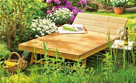 Gartenliege Zum Selber Bauen|mbel Fr Garten Und Pflanzen