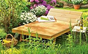 Gartenliege Holz Selber Bauen : gartenliege holz selber bauen mbel fr garten und pflanzen ~ Articles-book.com Haus und Dekorationen