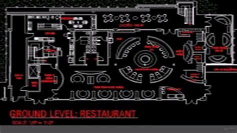 cuisine autocad restaurant floor plan cad file