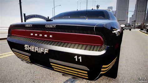 Polizei Stoppt Dodge Challenger by Dodge Challenger Liberty Sheriff 2010 F 252 R Gta 4