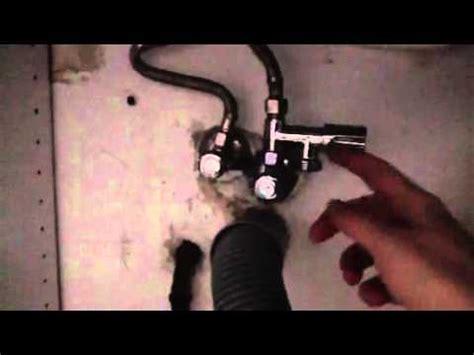 spuelmaschine anschliessen mit eckfix adapter youtube