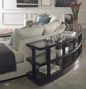 21 best round couches images on pinterest sectional for Curved sofa table for sectional