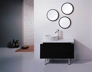 round bathroom wall cabinets home decor takcopcom With kitchen cabinets lowes with modern circle wall art