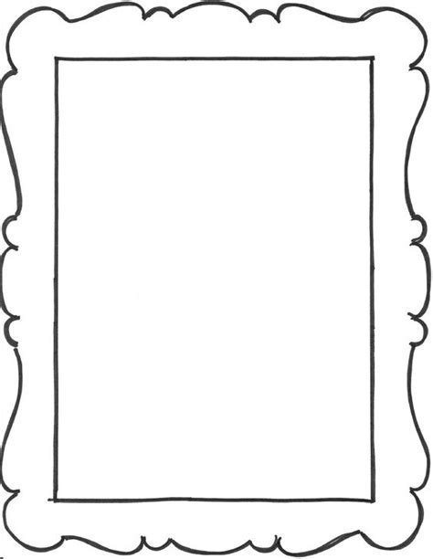 add   frame outlines   art notebook party favors
