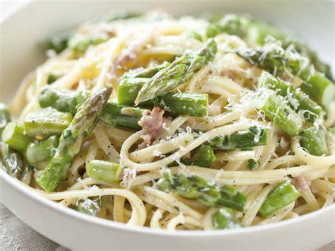 pancetta linguine recipe asparagus pancetta pasta