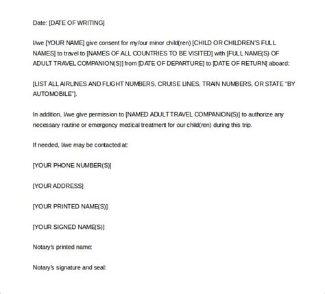 exle of notarized letter 7 notarized letter template doc pdf free premium 7106