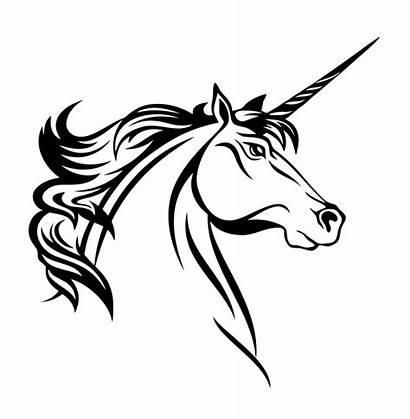Unicorn Head Decal Decals Border