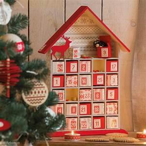 Calendrier De L Avent Maison En Bois : calendrier de l 39 avent en bois d corer maison ouverte 50 cm calendrier de l 39 avent creavea ~ Melissatoandfro.com Idées de Décoration