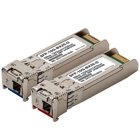 bidi sfp high quality sfp 10g modules transceivers reprogrammable