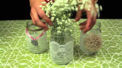 jar lights how to decorate jars for a wedding