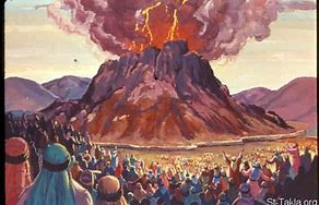 Image result for The Glory of the Lord on the Mount sinai