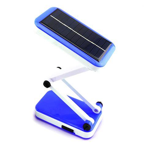 portable foldable solar power rechargeable led table l