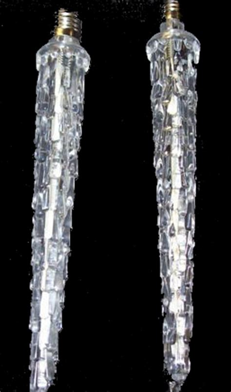 c7 christmas icicle lights reinders falling cool white c7 icicle lights 7 inch led lights at sears