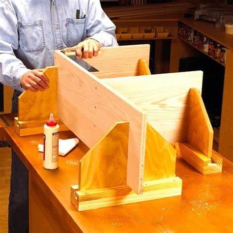 adjustable assembly supports woodworking plan workshop