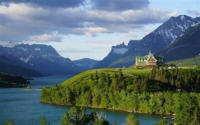 Lake Waterton Lakes Alberta Wales Canada Park