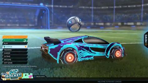rocket league cyclone with all 17 mystery decals mainframe
